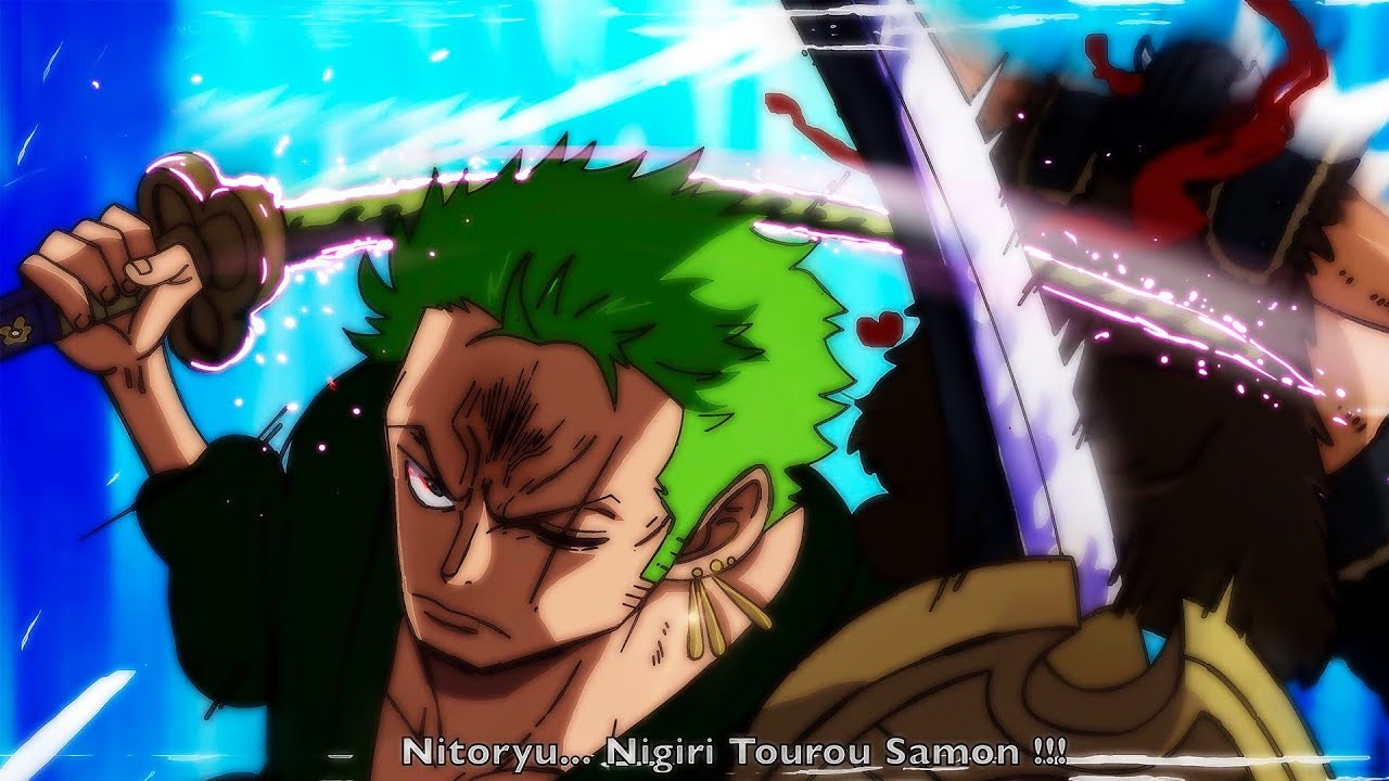 It was once wielded by kozuki oden alongside his other sword, ame no habakiri, and is one of the only two weapons known to have ever injured kaido. Zoro Has Mastered Enma One Piece Chapter 977 Analysis Youtube
