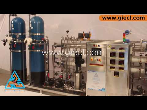 Purified Water Generation System Base on CSRO + HSRO + HS EDI | GIECL