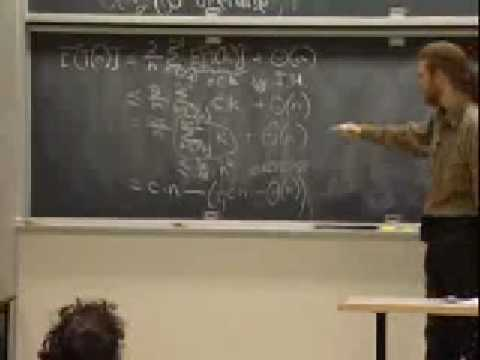 Lec 6 | MIT 6.046J / 18.410J Introduction to Algorithms (SMA 5503), Fall 2005