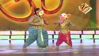 Dance Bangla Dance Junior Oct. 19 '10 Ganpati Special_Part 1