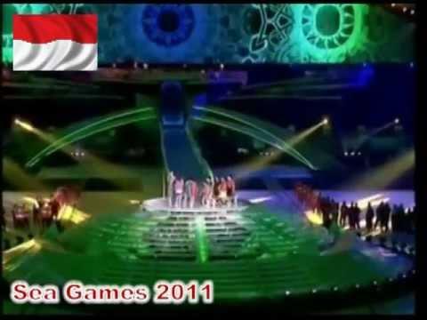 Afgan ft. Ensemble Musikal Laskar Pelangi - Laskar Pelangi @ Closing Ceremony Sea Games 2011