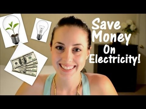 Save Hundreds on Electricity! How We Save Money On Our Elect
