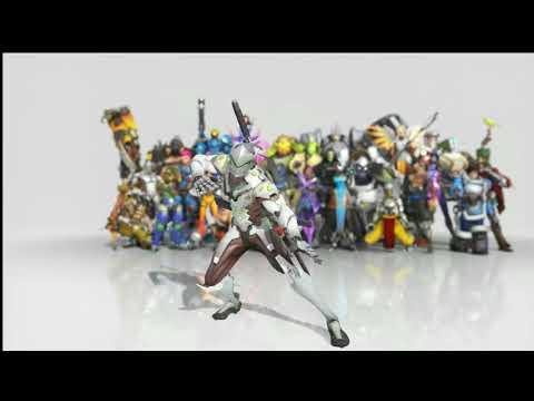 Genji Dances to I Need Healing (1 hour version)