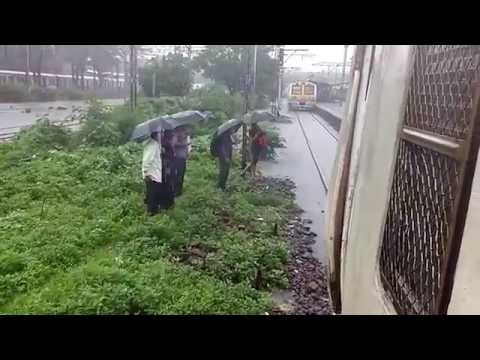 On a Rainy Flooded Day from Mulund to Thane