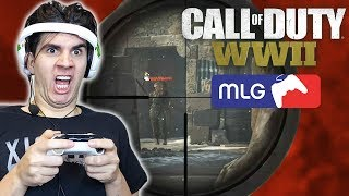 BEST CALL OF DUTY QUICK SCOPING MONTAGE! (WORLD WAR II)