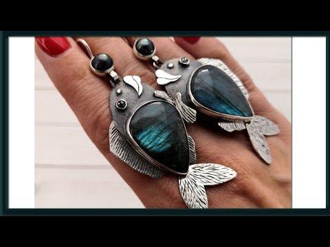 ✅Мои покупки: серебряные украшения и немного распаковки посылок