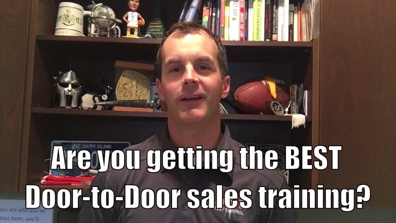 Are you getting the BEST door-to-door sales training? - YouTube