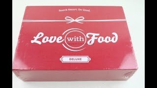 Love with Food Box August 2018
