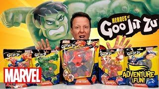 Heroes of Goo Jit Zu Marvel CAPTAIN AMERICAN Hard to Find Highly sought after