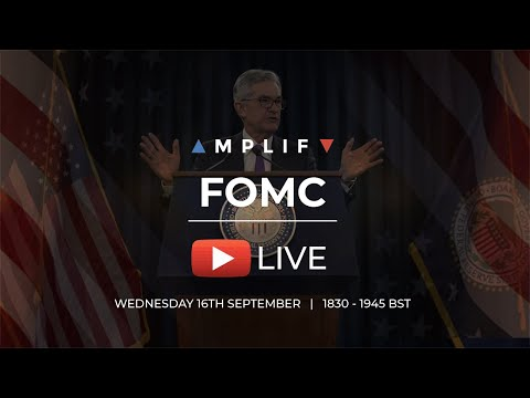 FOMC LIVE Trading Event – 16th September 2020