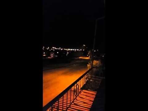 Adanada kar yağışı yıl başı gecesi