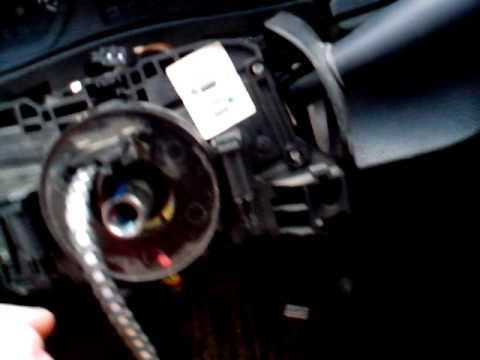 Ремонт водительской подушки безопасности на Рено Логан