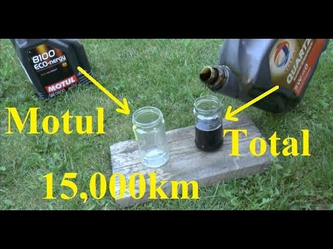 Total Vs. Motul After 15,000 Km - Is It Worth Paying Twice As  Much For Motul?