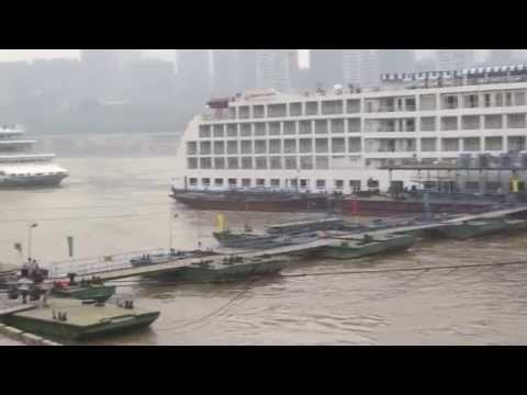 "MYSTERY MEGA-CITY CHONGQING WATERFRONT, ""2014 SOLOAROUNDWORLD IN 25 DAYS"", PAUL HODGE, Ch 119"