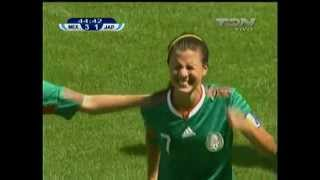 Mundial fem. U-20 2010 - Res. México vs Japón 1/2