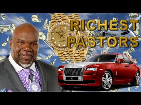 10 RICHEST AND MOST SUCCESFUL PASTORS IN AMERICA
