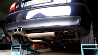 audi a3 8l 1 8t stainless steel exhaust sound