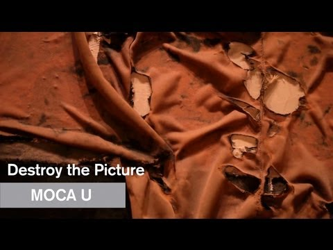 Destroy the Picture - Paul Schimmel - MOCA U - MOCAtv