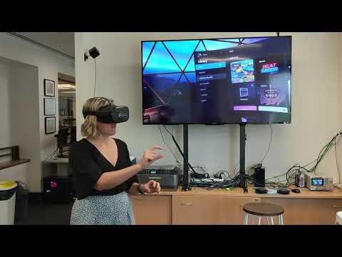 Finger Tracking Quest VR