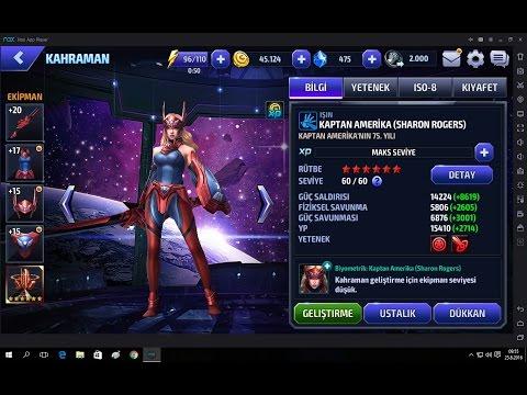 Marvel Future Fight Sharon Rogers