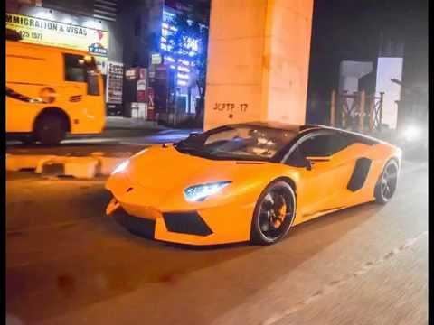 Lamborghini Aventador In Hyderabad India 2016 Youtube