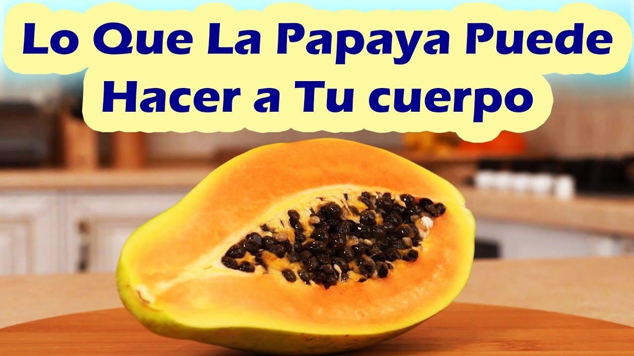 Esto Es Lo Que La Papaya o Lechoza Le Hace a Tu Salud - Beneficios De La Papaya