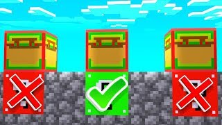 Minecraft Taco Lucky Block Roulette - Minecraft Modded Minigames | JeromeASF
