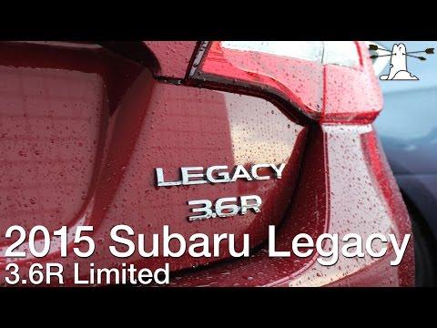 Driven: 2015 Subaru Legacy 3.6R