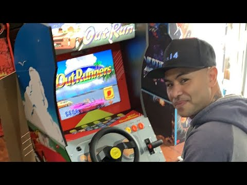 OutRun Arcade 1Up - First Impression & Modding Potential w/ Kongs-R-Us from 2Dai4