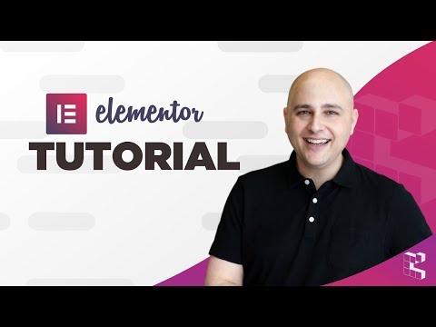 Elementor - WordPress Page Builder Tutorial (2018)