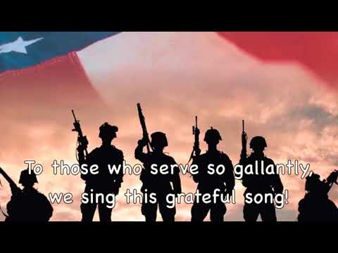 Thank you soldiers instrumental with lyrics
