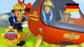 Feuerwehrmann Sam Deutsch Neue Folgen | Die Hitzköpfe - Gefährliche Luftrettungen 🚒 Kinderfilme