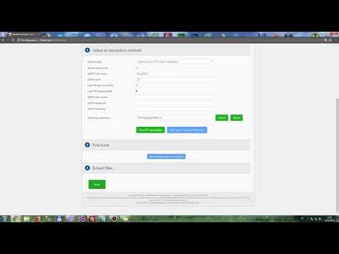 Как восстановить сайт с резервной копии созданной Akeeba Backup скриптом Akeeba Kickstart