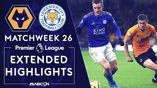 ** Watch Online ** Wolves v. Leicester City PREMIER LEAGUE HIGHLIGHTS 2142020 NBC Sports
