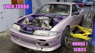 The New Plan For The S14 (TWIN TURBO J32)