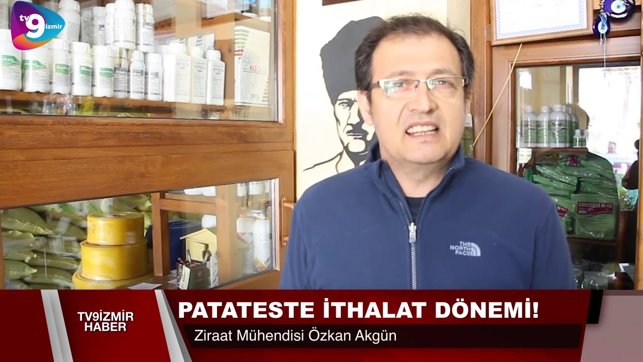 PATATESTE İTHALAT DÖNEMİ.