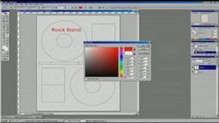 Photoshop Tutorial : How to Make CD Labels in Photoshop