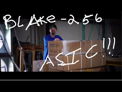 The Blake-256 ASIC Arrived! Unboxing Giveaway
