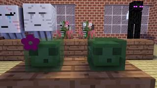 MONSTER SCHOOL : ZOMBIE INVASION - Minecraft Animation