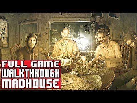 Resident Evil 7 Gameplay Walkthrough Part 1 FULL GAME Madhouse - No Commentary
