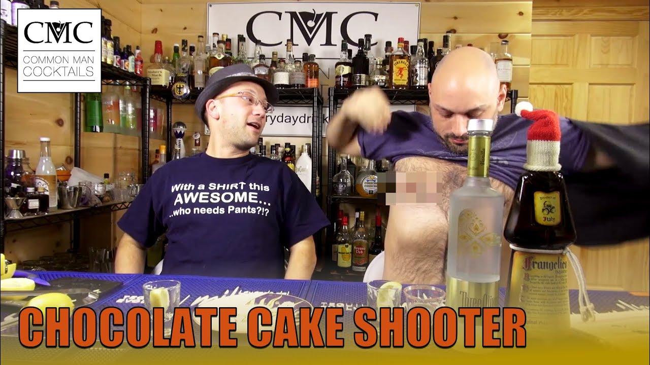 Chocolate Cake Shooter Vanilla Vodka Shot YouTube