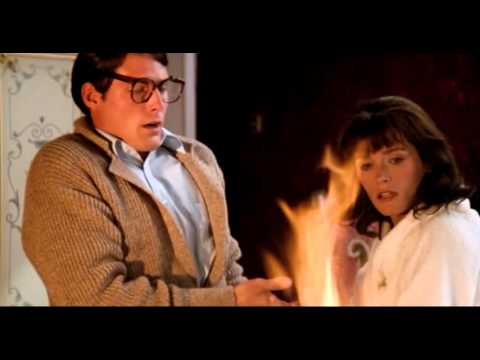 Superman II    Fireplace scene at Niagra Falls between Lois & Clark