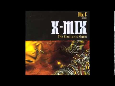 X- MIX 6 - THE ELECTRONIC STORM - MR. C - OLD SKOOL TECHNO MIX 1996