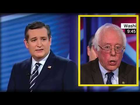 WATCH TED CRUZ FORCE BERNIE SANDERS TO SAY THE 1 THING OBAMA DIDN'T WANT HIM TO SAY!