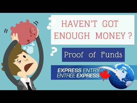💰Don't have enough money for Proof of Funds ? Bank letter Format Express Entry 2018