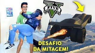 DESAFIO SE NÃO FIZER a MITAGEM com o BATMÓVEL no GTA V FAZ DANCINHA JUNTOS E SHALLOW NOW! ft. Zeal