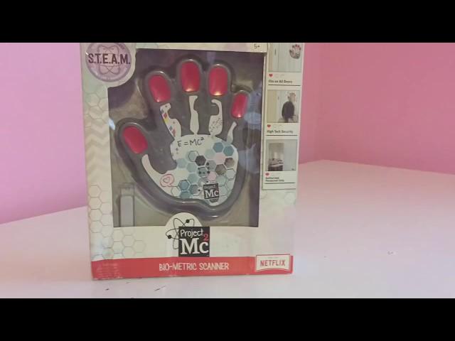 Project Mc2 Biometric Scanner Tutorial