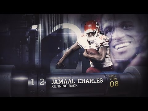 #12 Jamaal Charles  (RB, Chiefs) | Top 100 Players of 2015