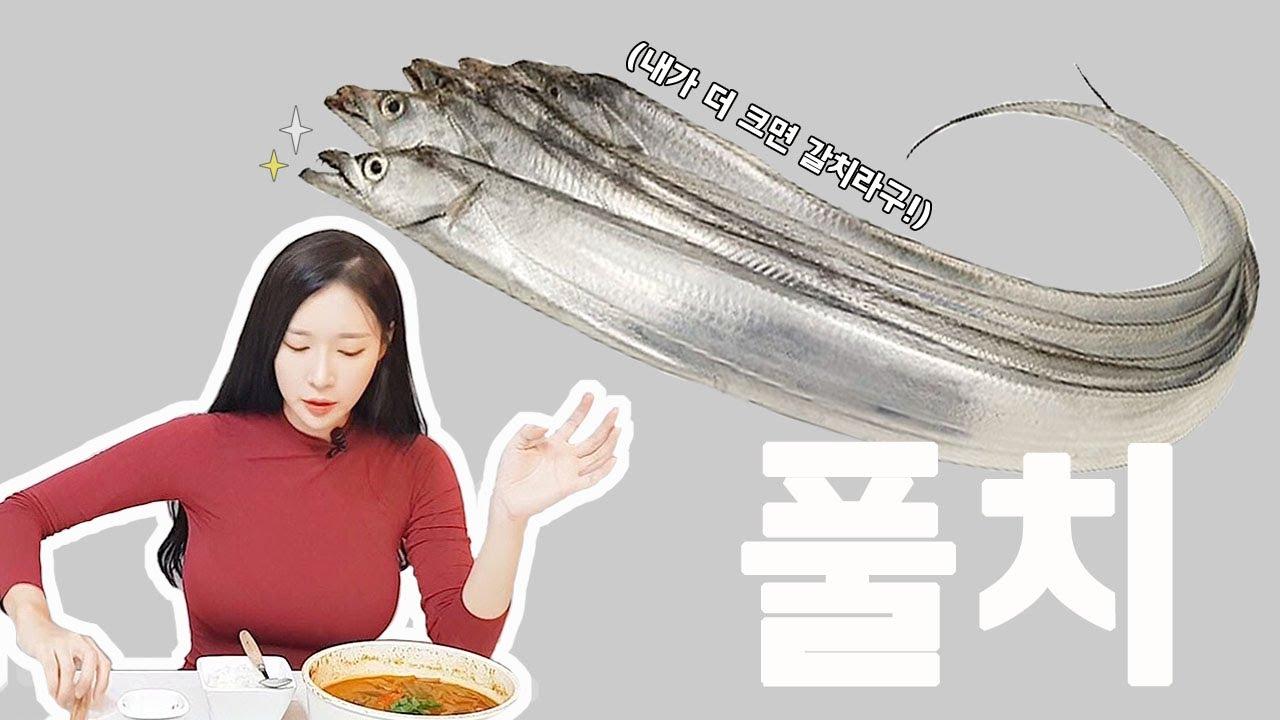 [SUB] 돈주고 사먹지 말고 직접 잡아 먹자 풀치!  Young hairtail dish!