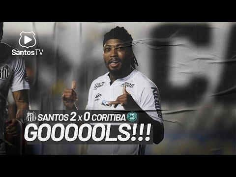 SANTOS 2 X 0 CORITIBA | GOLS | BRASILEIRÃO (13/02/21)
